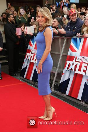 Amanda Holden - Britain's Got Talent London auditions - Arrivals - London, United Kingdom - Wednesday 13th February 2013