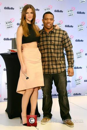 Brooklyn Decker and Ray Rice - Gillette Event - New York City, NY, USA - Thursday 14th February 2013