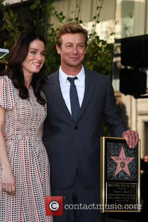 Robin Tunney and Simon Baker - Simon Baker is honoured with a star on the Hollywood Walk of Fame at...