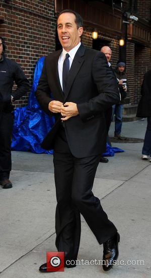 Jerry Seinfeld - Letterman Celebrities - New York City, NY, USA - Thursday 14th February 2013