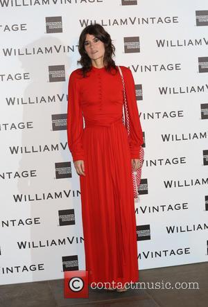Bella Freud - 3rd Annual WilliamVintage dinner held at St. Pancras Hotel - Arrivals - London, United Kingdom - Thursday...