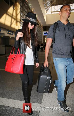 Selena Gomez - Celebrities arriving at LAX airport - Los Angeles, United Kingdom - Friday 15th February 2013