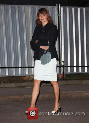 Helena Christensen - Samantha Cameron hosts a LFW reception party at London Fashion Week - London, United Kingdom - Friday...