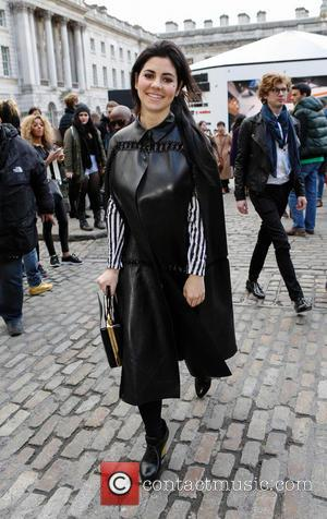 Marina Diamandis - London Fashion Week - Autumn/Winter 2013 - Somerset House at London Fashion Week, Somerset House - London,...
