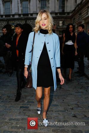 Peaches Geldof - London Fashion Week - Autumn/Winter 2013 - Somerset House at London Fashion Week, Somerset House - London,...