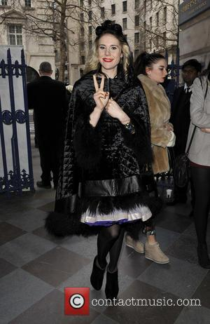 Kate Nash - LFW Felder Felder Departures at London Fashion Week - London, England, United Kingdom - Friday 15th February...