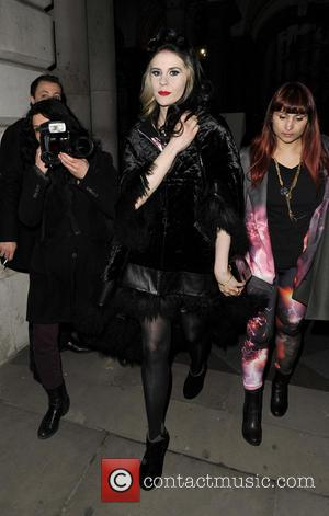 Kate Nash - LFW PPQ- Celebrity Sightings at London Fashion Week - London, United Kingdom - Friday 15th February 2013