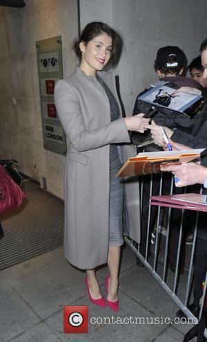 Gemma Arterton - Celebrities at the Radio 1 studios