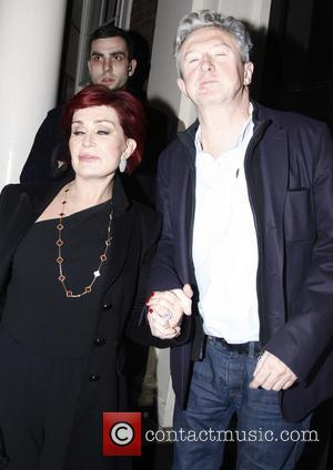 Sharon Osbourne and Louis Walsh - The Arts Club celebrities - London, United Kingdom - Friday 15th February 2013