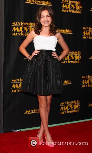 Bailee Madison - The 21st Annual Movieguide Awards at Universal Hilton Hotel - Los Angeles, California, United States - Friday...