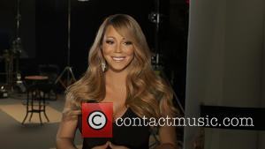 Mariah Carey - Mariah Carey at a video shoot