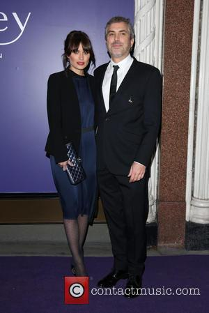 Alfonso Cuaron and Sheherazade Goldsmith - EE British Academy Film Awards (BAFTAs) nominees party 2014 held at Aspreys - Arrivals...