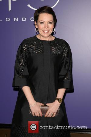 Olivia Colman - EE British Academy Film Awards (BAFTAs) nominees party 2014 held at Aspreys - Arrivals - London, United...