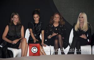 Victoria Beckham, Diane Von Furstenberg and Donatella Versace