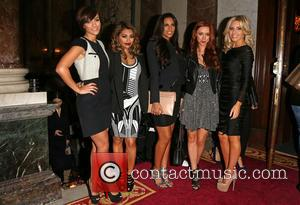 Frankie Sandford, Vanessa White, Rochelle Wiseman, Una Healy and Mollie King Of The Saturdays