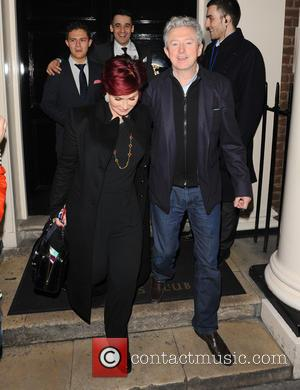 Sharon Osbourne and Louis Walsh