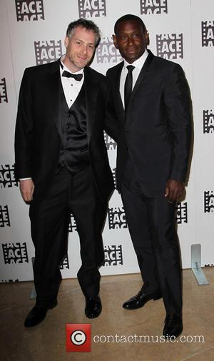 Jordan Goldman and David Harewood - 63rd Annual ACE Eddie Awards, held at The Beverly Hilton Hotel at Beverly Hilton...
