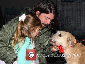 Harper Grohl, Dave Grohl and Sunny