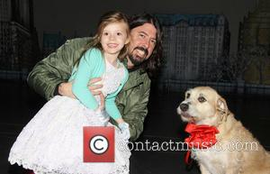 Dave Grohl, Harper Grohl and Sunny