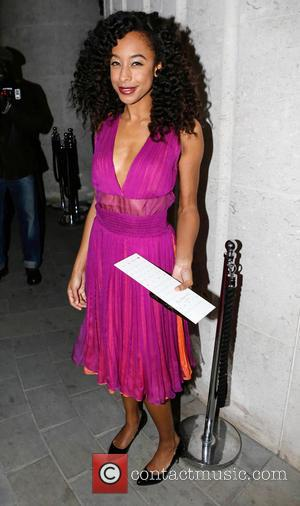 Corinne Bailey Rae - London Fashion Week Autumn/Winter 2013 at London Fashion Week - London, United Kingdom - Saturday 16th...