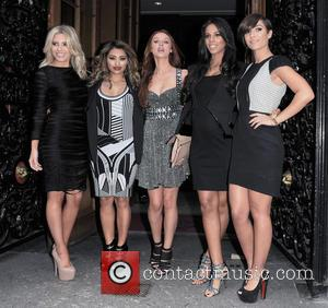 Mollie King, Vanessa White, Una Healy, Rochelle Humes, Frankie Sandford and The Saturdays