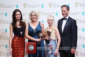 Olga Kurylenko, Richard E. Grant, Beverley Dunn and Catherine Martin - British Academy Film Awards (BAFTA) 2014 held at the...