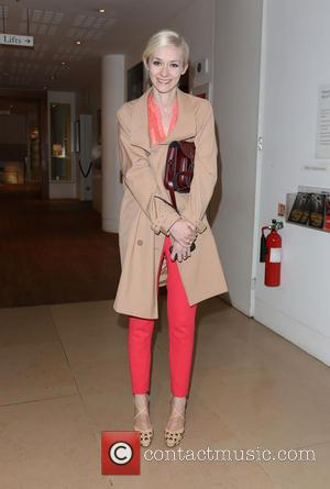 Portia Freeman - LFW Matthew Williamson front row at London Fashion Week - London, United Kingdom - Sunday 17th February...
