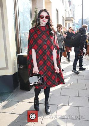 Kate Nash - LFW Temperley London arrivals at London Fashion Week - London, United Kingdom - Sunday 17th February 2013