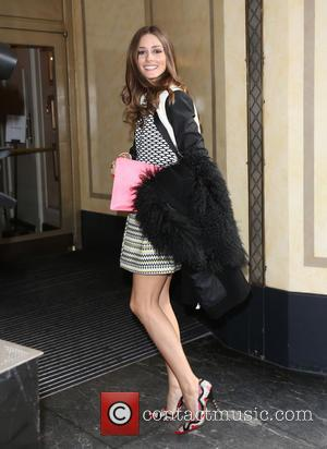 Olivia Palermo - LFW Temperley London arrivals at London Fashion Week - London, United Kingdom - Sunday 17th February 2013