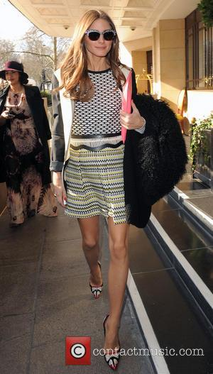 Olivia Palermo - LFW Temperley London - Departures at London Fashion Week - London, England, United Kingdom - Sunday 17th...