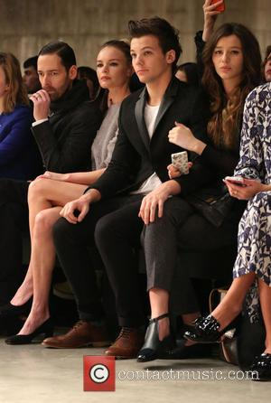 Michael Polish, Kate Bosworth, Louis Tomlinson and Girlfriend Eleanor Calder
