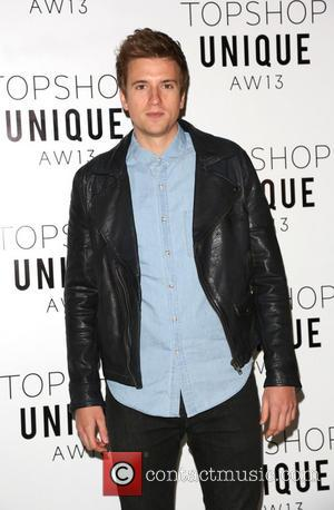 Greg James - London Fashion Week - Autumn/Winter 2013  - Topshop Unique- Front Row at London Fashion Week -...