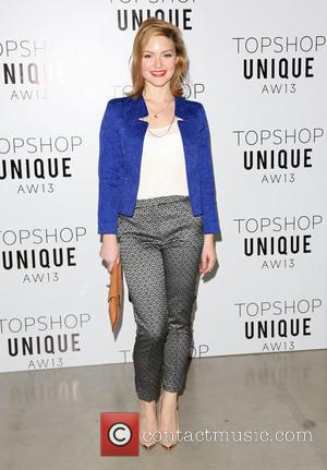 Holliday Grainger - London Fashion Week - Autumn/Winter 2013  - Topshop Unique- Front Row at London Fashion Week -...