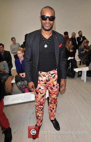 Tyson Beckford - London Fashion Week - Autumn/Winter 2013 - Vivienne Westwood RED Label - Front Row at London Fashion...