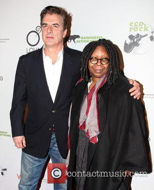 Chris Noth and Whoopi Goldberg