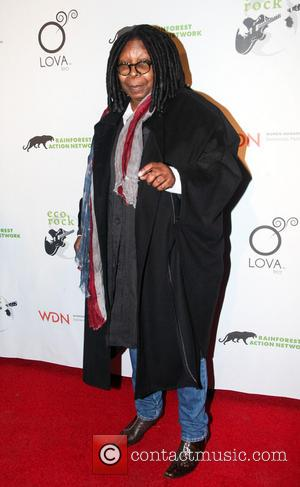 Whoopi Goldberg - Rainforest Action Network Benefit - New York City, NY, United States - Sunday 17th February 2013