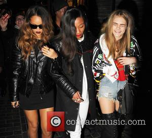 Rihanna and Cara Delevingne