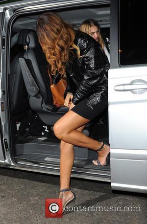 Rihanna - Rihanna and Cara Delevingne party together at The Box club at London Fashion Week - London, United Kingdom...
