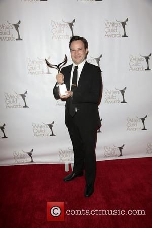 Writer Danny Strong, winner of the Writers Guild Award for Outstanding Script Television and Adapted Long Form - Writers Guild...