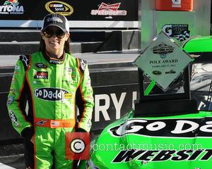 Danica Patrick Hit By Flying Rock