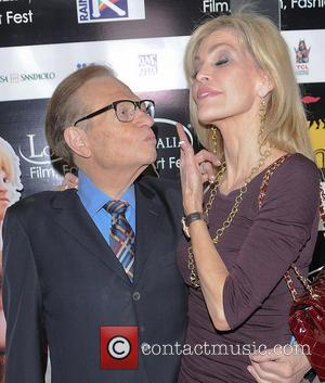 Larry King and Shawn Southwick
