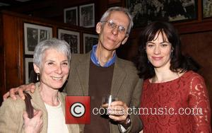 Martha Ives, David Ives and Maggie Siff the - The opening night party for the New Audience production of 'Much...