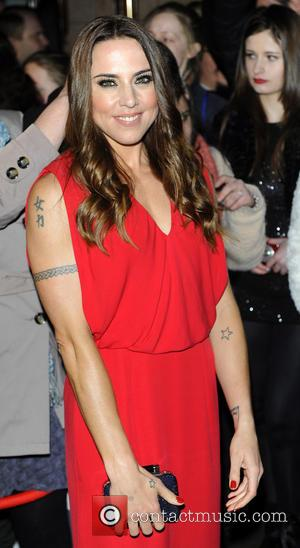 Melanie Chisholm - Whatsonstage.com Awards at Palace Theatre - London, United Kingdom - Sunday 17th February 2013