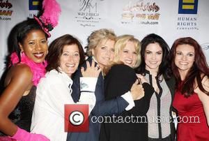 Dalila Ali Rajah, Meredith Baxter, Suzanne Westenhoefer, Jill Bennett and Jackie Monahan - Her HRC 'Human Rights Campaign' Los Angeles...
