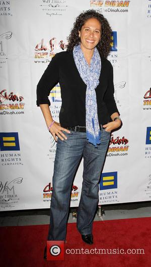 Dana Goldberg - Her HRC 'Human Rights Campaign' Los Angeles - Carnival of Delight - West Hollywood, California, United States...