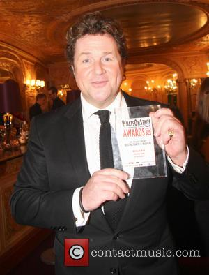 Michael Ball - Whatsonstage.com Awards 2013 at the Palace Theatre - Inside at Palace Theatre - London, United Kingdom -...