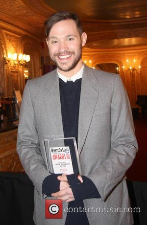 Will Young - Whatsonstage.com Awards 2013 at the Palace Theatre - Inside at Palace Theatre - London, United Kingdom -...