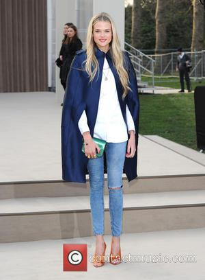 Gabriella Wilde - London Fashion Week Autumn/Winter 2013, Burberry Prorsum show - Arrivals - London, United Kingdom - Monday 18th...