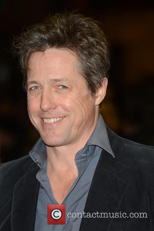 Hugh Grant - UK film premiere of 'Cloud Atlas' held at the Curzon Mayfair - Arrivals - London, United Kingdom...