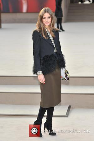 Olivia Palermo - London Fashion Week - Autumn/Winter 2013 - Burberry at London Fashion Week - London, United Kingdom -...